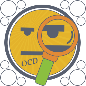 animated face describing ocd