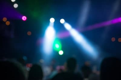 Lights at a party or dance club