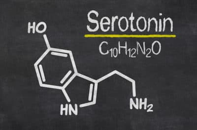 chemical structure of serotonin