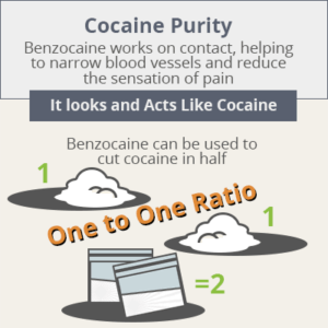 Infographic of cocaine purity